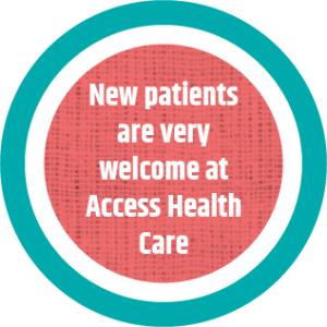 Access new patients circle